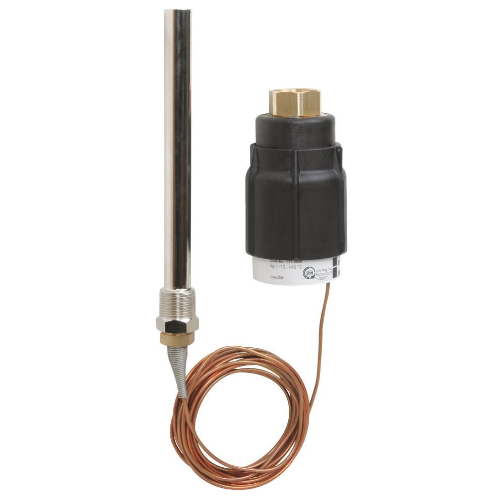 Термостатический элемент Danfoss AVT 065-0603 регулятора температуры, Ру25, диапазон °С: 60–110, для клапанов VG, VGF, VGS