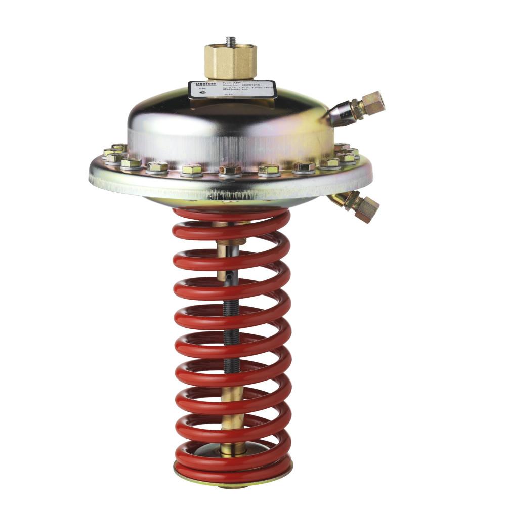 Регулирующий блок AFP Danfoss 003G1016, регулятора перепада давления,диапазон настройки, бар: 0,15–1,50, для клапанов VFG 2