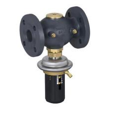 Регулятор перепада давления Danfoss DPR 003H6129 моноблочный, Ду25, Ру25 Kvs=8, чугун, ст. арт. 003H6347
