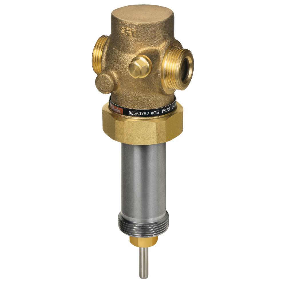 Клапан регулирующий Danfoss VGS 065B0790 для AVT, ДУ25, Ру 25, Kvs=6.3, бронза, фланцевый