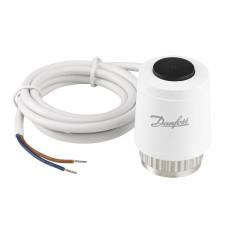 Термоэлектрический привод 24В Danfoss TWA-K 088H3140 NC для клапана М30×1,5, нормально закрытый