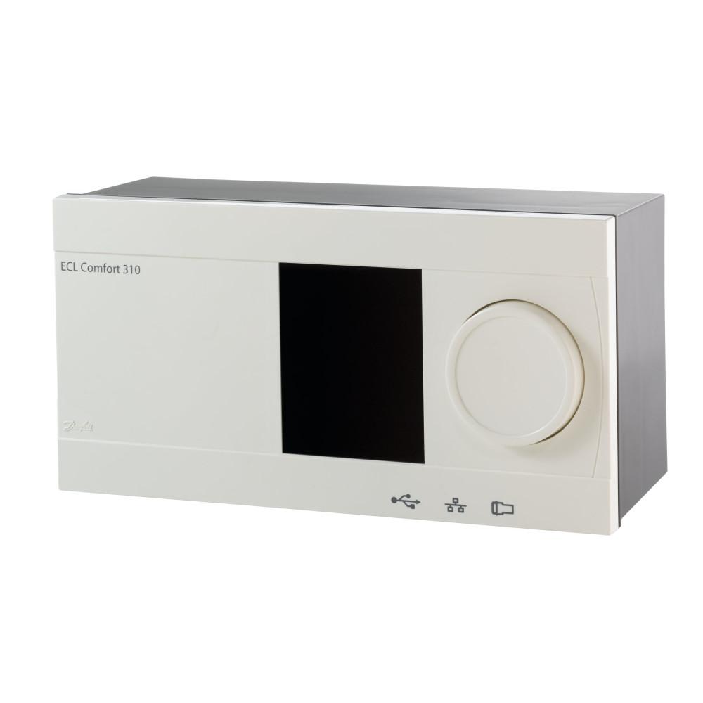 Регулятор температуры Danfoss ECL Comfort 310 087H3044 Modbus, Ethernet, M-bus 24В, электронный, для системы отопления или ГВС с дисплеем и кнопкой