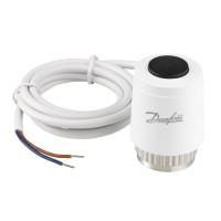 Термоэлектрический привод 24В Danfoss TWA-K 088H3141 NO для клапана М30×1,5, нормально открытый