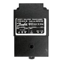 Danfoss 087B1156 Трансформатор питания 220 В/24 В, 35 ВА для ECL Comfort