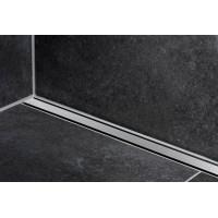 Накладная панель для лотка Geberit CleanLine 60 154.457.00.1, нерж. сталь, 30-130мм