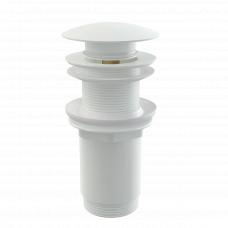 Донный клапан Alcaplast A395B для раковины без перелива, клик-клак