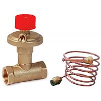 Балансировочный клапан R206C-1 R206CY205 Giacomini регулятор п/д, ДУ25 BP R 1, Kvs= 4.15, латунь