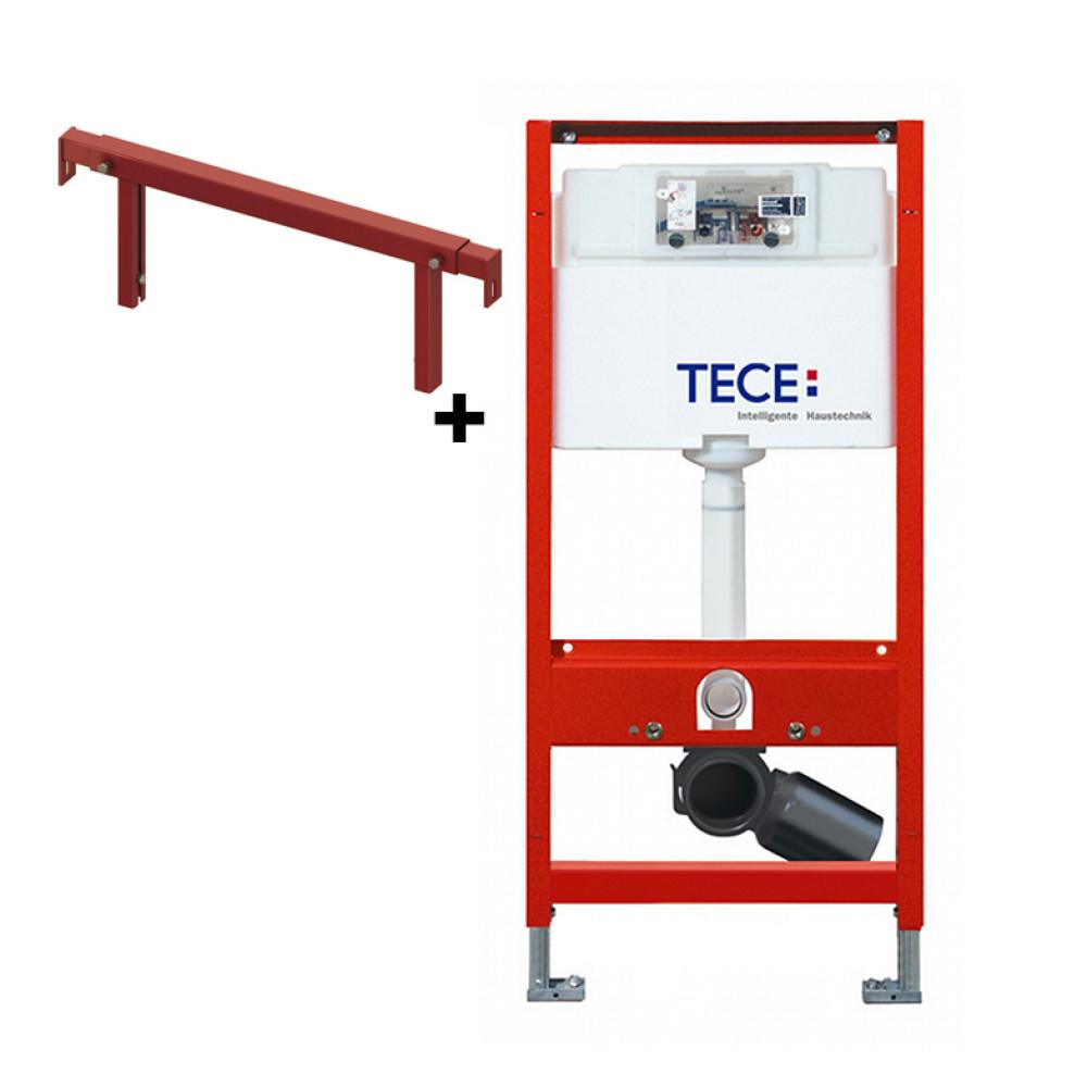 TECE 9300000+9380013 Инсталляция для унитаза с телескопическим креплением