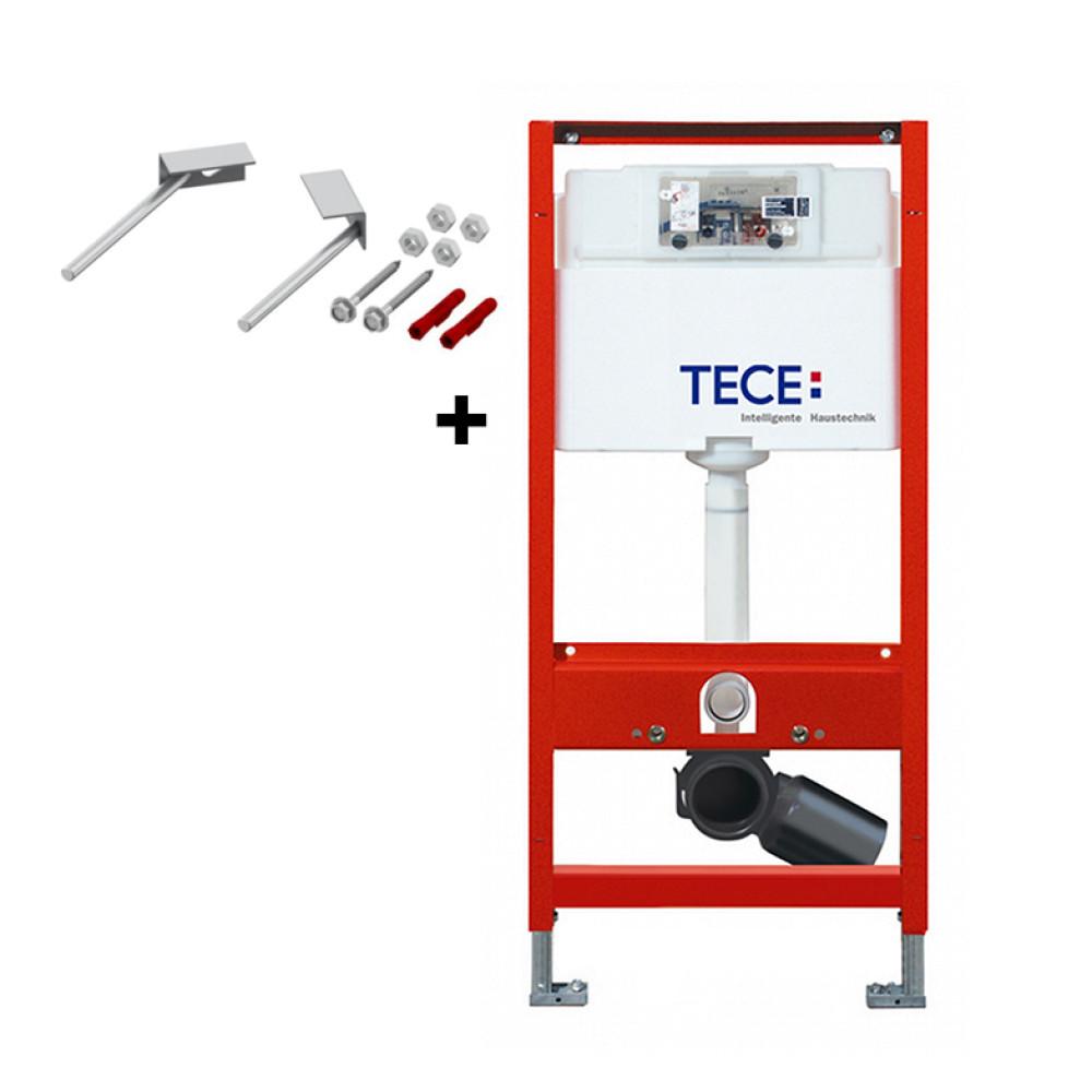 Инсталляция для унитаза TECE 9300000+9380301 с угловым креплением