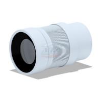 АНИ пласт К821 Гофра для унитаза, для пластиковых труб (200-360мм)
