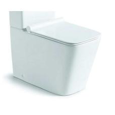 Чаша унитаза Q-Line VT2B-12, цвет белый, ультратонкое сиденье soft-close, P-trap