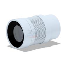 Гофра для унитаза АНИ пласт К821R для пластиковых труб (200-360мм), с прокладкой R