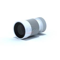 Гофра для унитаза АНИ пласт К828 для чугунных труб (225-520мм)