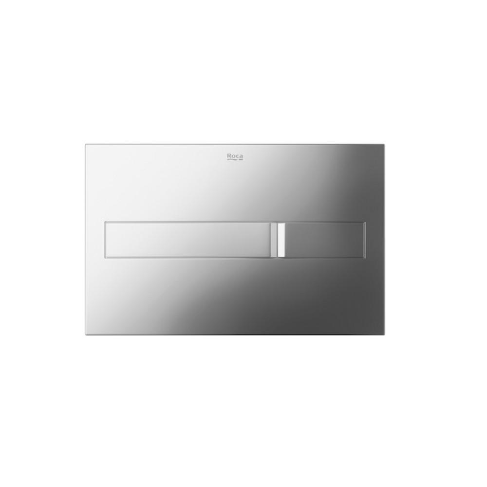 Кнопка смыва Roca PL2 Dual 890096001, хром