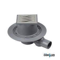 Душевой трап Pestan Confluo Standard Dry 1 Mask 13000067, решетка 10х10см, с рамкой