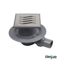 Душевой трап Pestan Confluo Standard Tide 1 13000001, решетка 15х15см