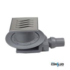 Душевой трап Pestan Confluo Standard Tide 4 13000004, решетка 15х15см