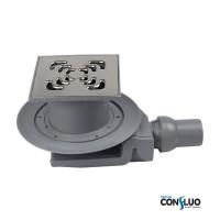 Душевой трап Confluo Standard Square 4 Pestan 13000008, решетка 15х15см