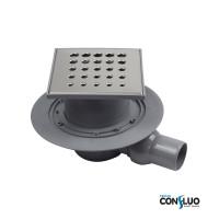 Душевой трап Pestan Confluo Standard Drops 1 13000009, решетка 15х15см