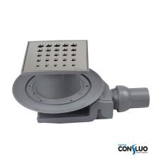 Душевой трап Pestan Confluo Standard Drops 4 13000012, решетка 15х15см