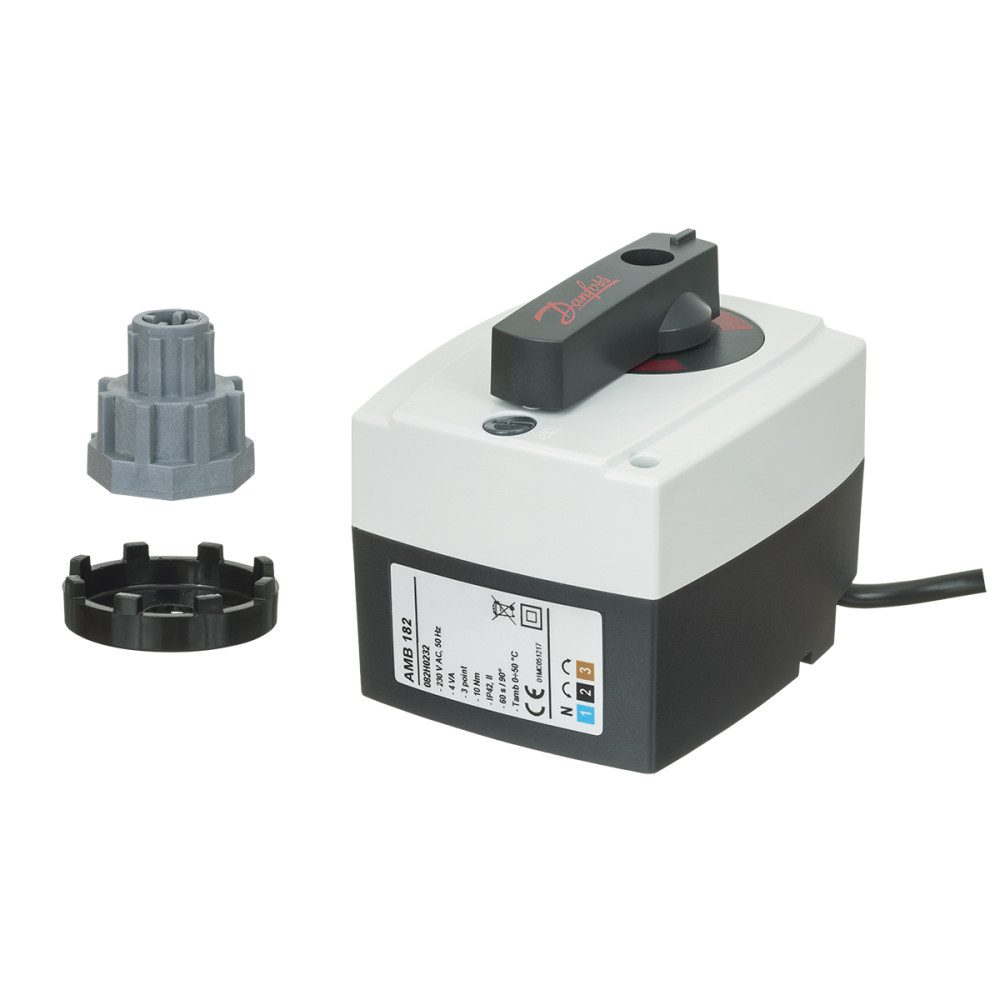 Электропривод клапана Danfoss AMB 162 082H0226 редукторный, 230В