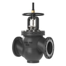 Ручной балансировочный клапан MNF Danfoss 003Z1168 ДУ250, чугун, ф/ф, Kvs=952,3м3/ч, Ру, бар: 16 | (MSV-F2)