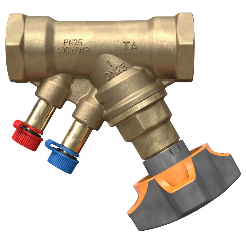 Балансировочный клапан IMI TA STAD 52 851-015 без дренажа, Ду 15, BP 1/2, Ру 25, Kvs=2.56 | 52851015