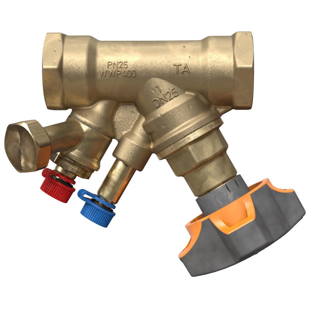 Балансировочный клапан IMI TA STAD 52851-640 с дренажом, Ду 40, BP 1 1/2, Ру 25, Kvs=19.3 | 52851640