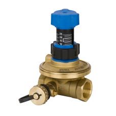Балансировочный клапан APT Danfoss 003Z5701 Ду15, Kvs 1.6, BP 1/2, латунь