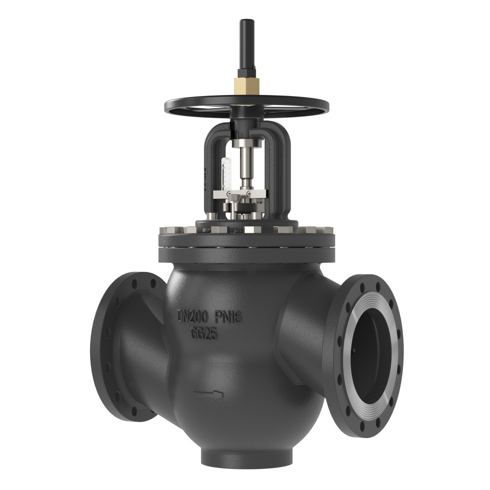 Клапан балансировочный MNF Danfoss 003Z1190 ДУ350, чугун, ф/ф, Kvs=2046,1м3/ч, Ру, бар: 16 | (MSV-F2)