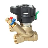 Ручной балансировочный клапан MVT Danfoss 003Z4084 ДУ32, Rp 1¼, Kvs, м3/ч:18, латунь