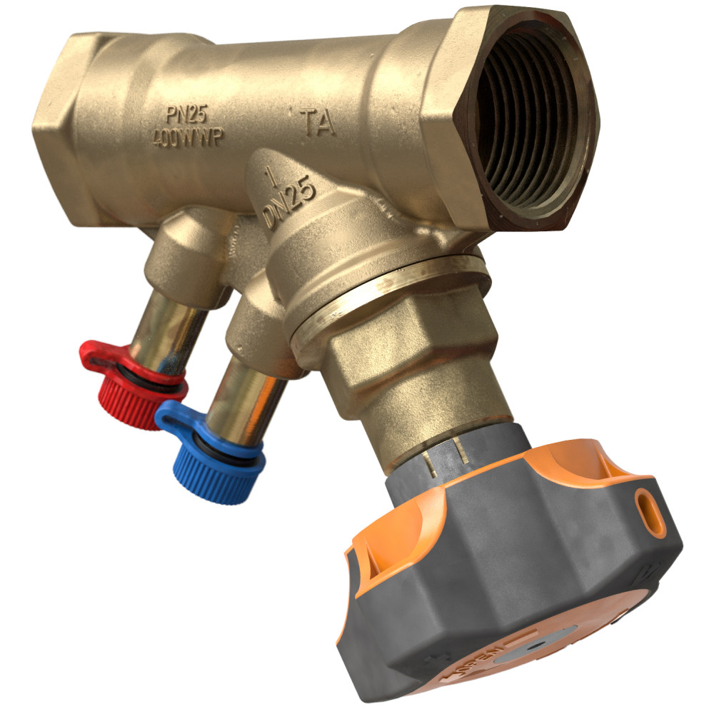 Ручной балансировочный клапан IMI Tour&Andersson 52 851-020 STAD PN 25 без дренажа