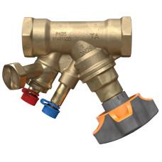 Балансировочный клапан IMI TA STAD 52851-650 с дренажом, Ду 50, BP 2, Ру 25, Kvs=32.3 | 52851650