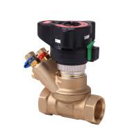 Клапан балансировочный, ручной ASV-BD Danfoss 003Z4044 Ду32, Kvs, м3/ч=18, BP Rp 1¼, латунь, с ниппелями