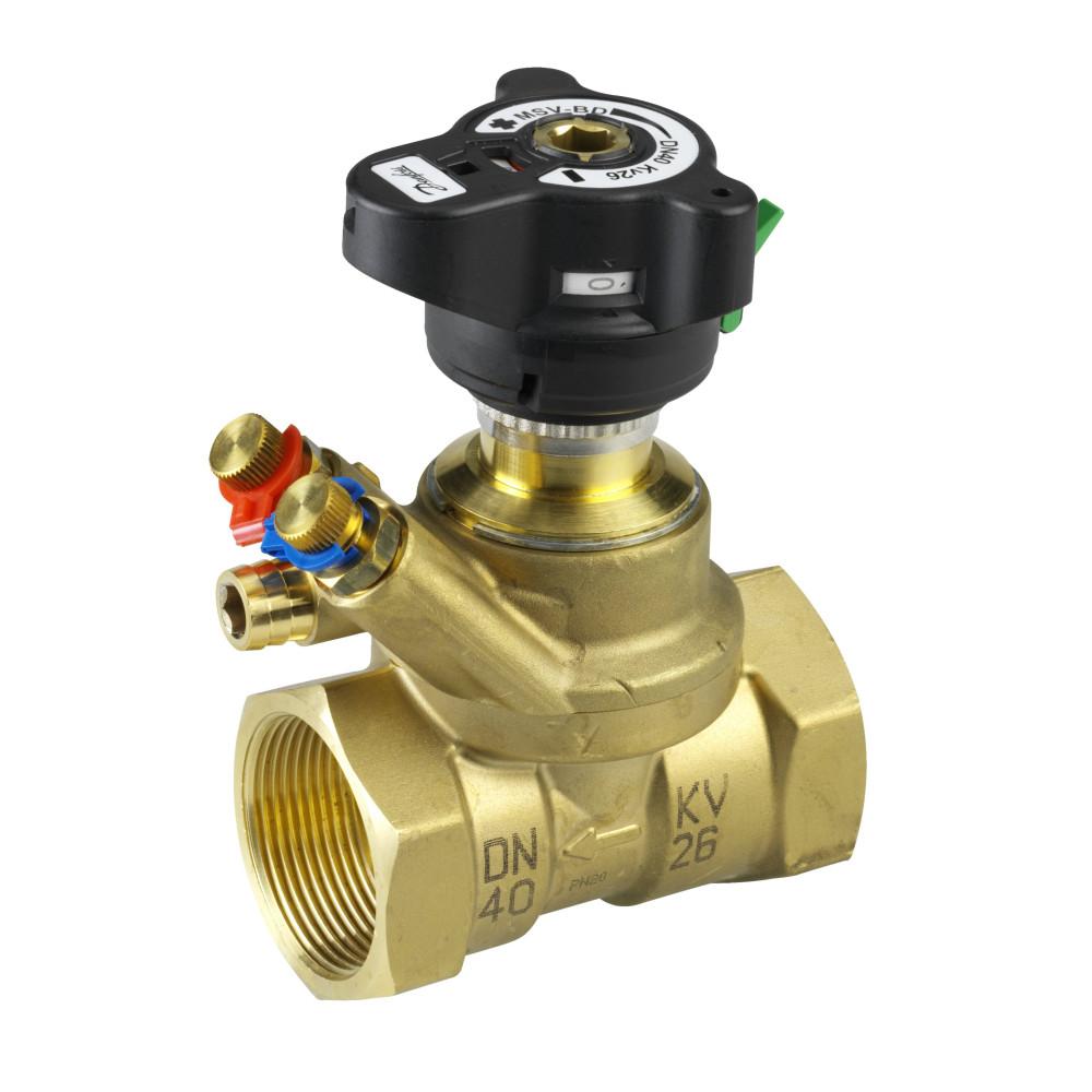 Ручной балансировочный клапан MVT Danfoss 003Z4086 ДУ50, 2, Kvs 40, латунь