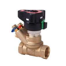 Клапан балансировочный Danfoss ASV-BD 003Z4045 Ду40, Kvs 26, BP 1 1/2, латунь, с ниппелями