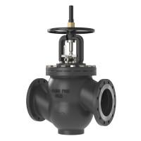 Ручной балансировочный клапан MNF Danfoss 003Z1176 ДУ200, чугун, ф/ф, Kvs=685,6м3/ч, Ру, бар: 25 | (MSV-F2)