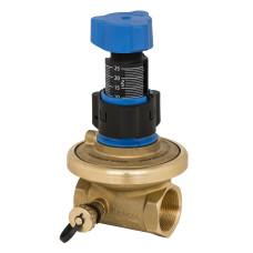 Клапан балансировочный, автомат APT Danfoss 003Z5705 Ду40, Kvs, м3/ч=10, BP Rp 1½, латунь