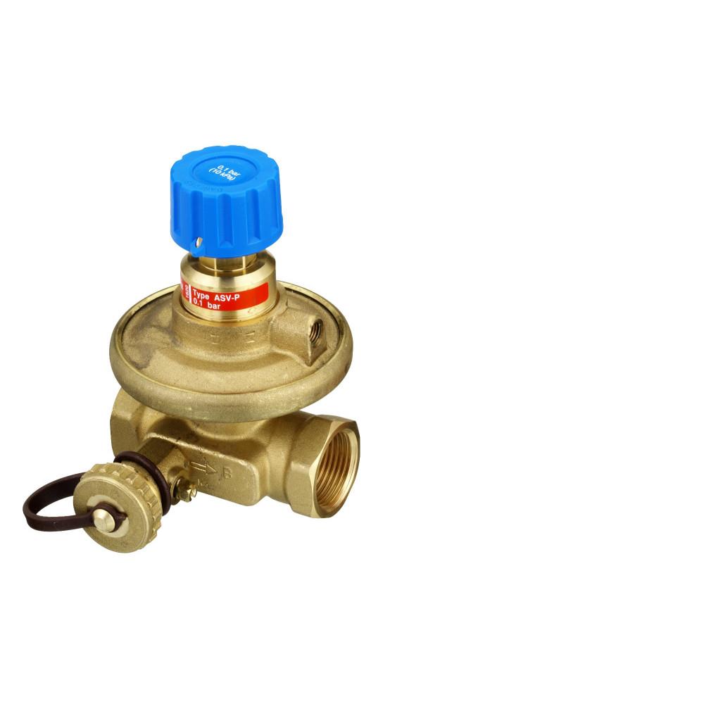 Клапан балансировочный, автомат ASV-P Danfoss 003L7625 Ду40, Kvs, м3/ч=10,0, BP 1 1/2, латунь