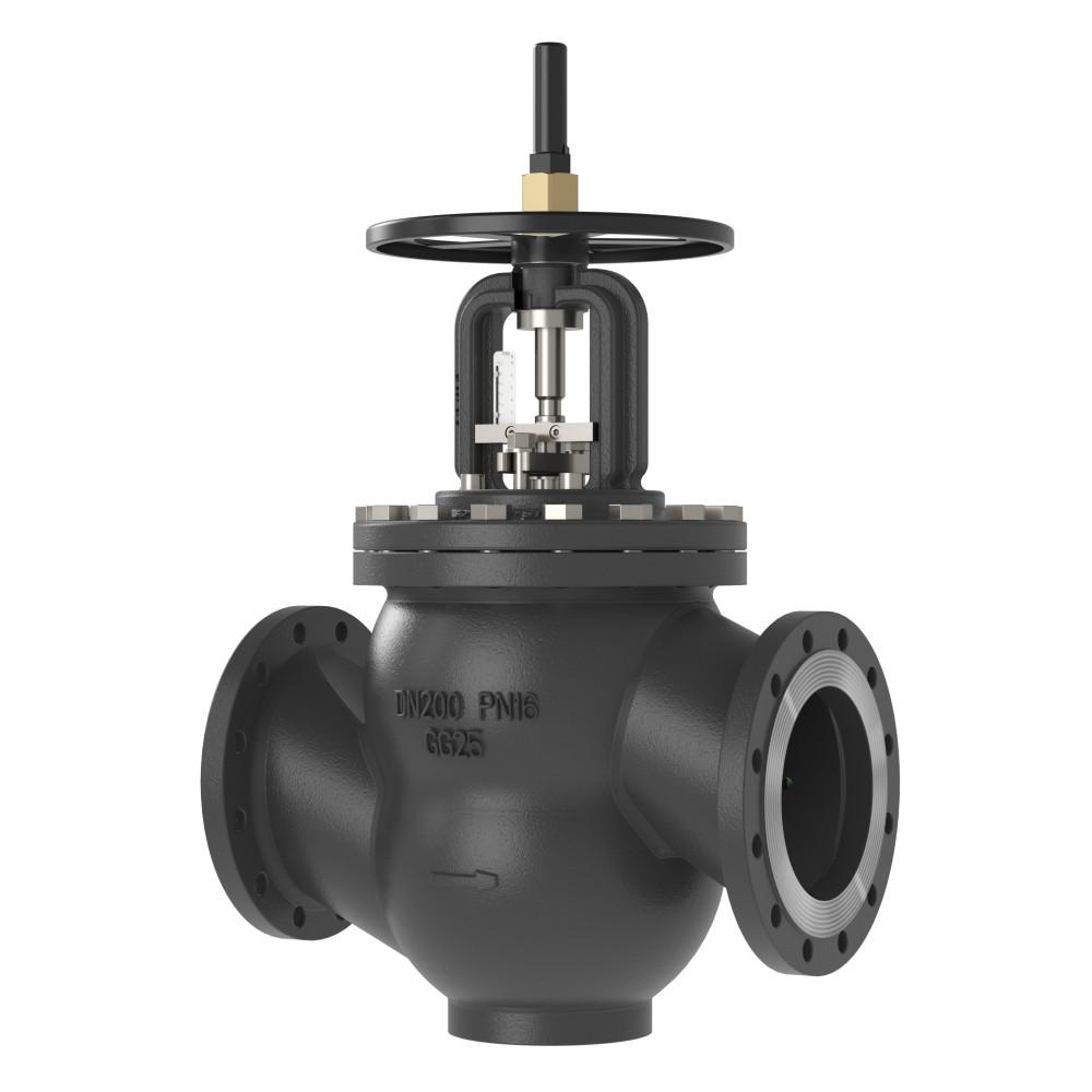 Ручной балансировочный клапан MNF Danfoss 003Z1177 ДУ250, чугун, ф/ф, Kvs=952,3м3/ч, Ру, бар: 25   (MSV-F2)
