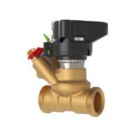 Ручной балансировочный клапан MVT Danfoss 003Z4182 ДУ15, 3/4, Kvs 3, латунь