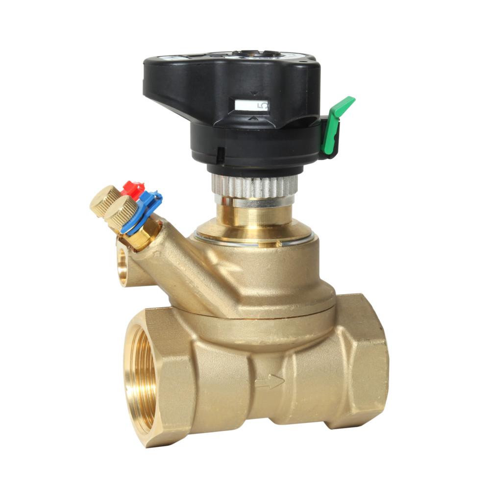 Ручной балансировочный клапан MSV-BD Danfoss 003Z4005 ДУ40, 1 1/2, Kvs 26, латунь
