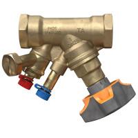 Балансировочный клапан с дренажом IMI TA STAD 52851-615, Ду 15, BP G ½, Ру 25, Kvs=2.56, | 52851615