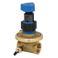 Клапан балансировочный, автомат APT Danfoss 003Z5741 Ду15, Kvs, м3/ч=1.6, BP Rp ½, латунь
