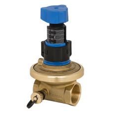 Балансировочный клапан APT Danfoss 003Z5741 Ду15, Kvs 1.6, BP 1/2, латунь