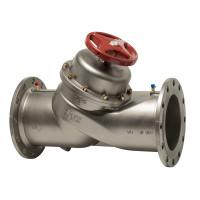 Балансировочный клапан фланцевый IMI TA STAF 3G 52181-093 ДУ 200, Kvs=765, чугунный