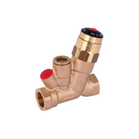 Danfoss AHT 003Z1525 Клапан термостатический балансировочный ручной Ду15 | Ру, бар: 10 | диапазон настройки, С: 35–60 | Kvs, м3/ч: 1.5