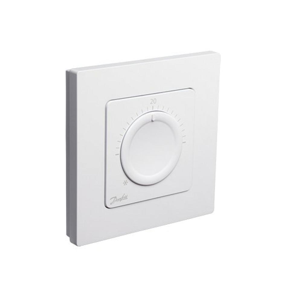 Термостат Danfoss Icon дисковый комнатный, встраиваемый с механическим управлением, 230В | 088U1000