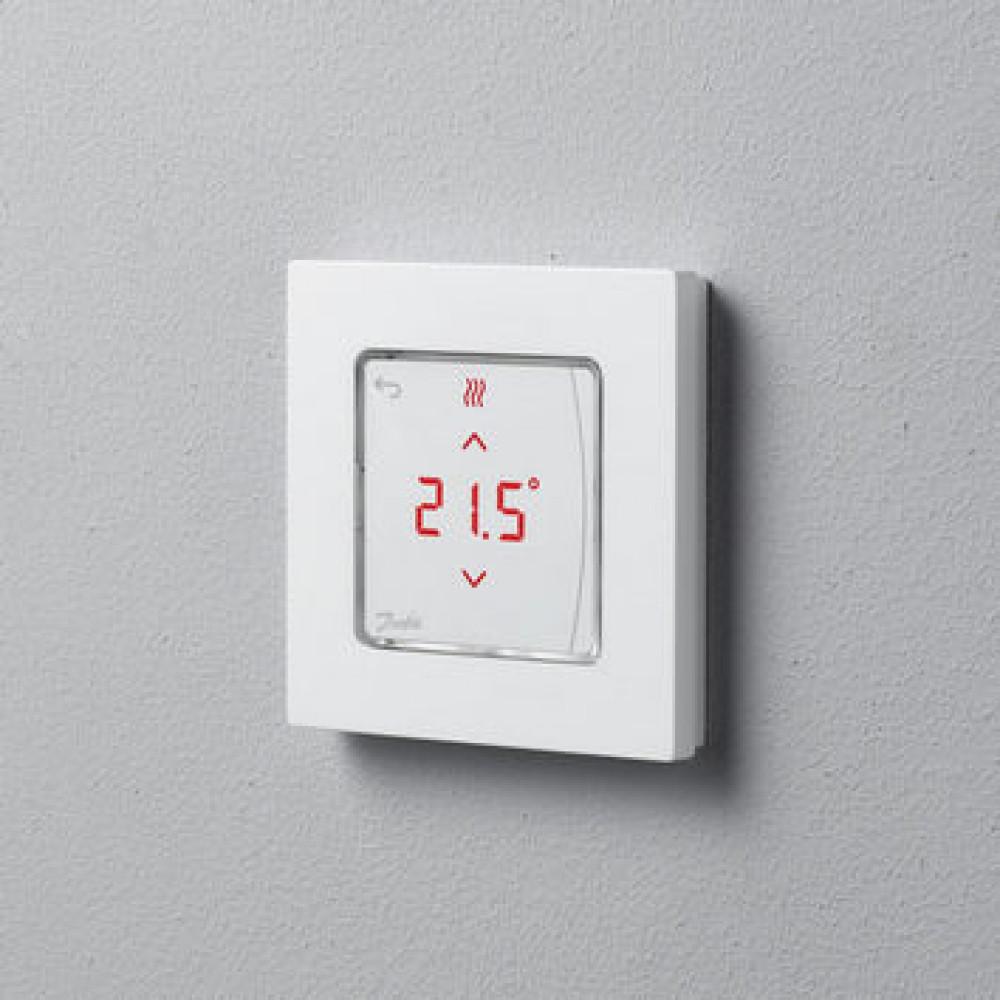 Термостат Danfoss Icon сенсорный комнатный, встраиваемый, 230В | 088U1010