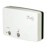 Приемник сигнала беспроводных комнатных термостатов RX-1, 1 канал Danfoss RX-1